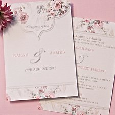 Beatrice Wedding Day Invitation