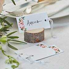 Floral Luggage Tags