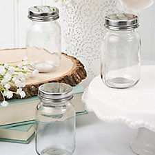 Mason Jar with Screw Top Lid