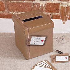 Just My Type Wedding Wishes Box