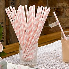 With Love Paper Straws