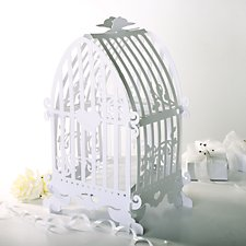 Card Birdcage Post Box