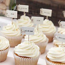 Vintage Affair Cupcake Sticks