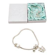 Wings of Love Butterfly Charm Bracelet