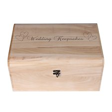 Large Wooden Keepsake Box