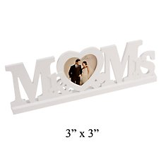 Amore Mr & Mrs Mantel Plaque and Photo Frame