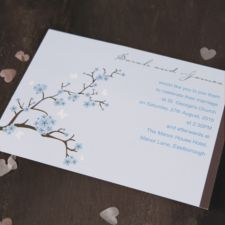 Blossom Wedding Day Invitation