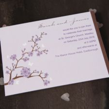 Blossom Day Invitation
