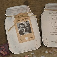 Jar of Hearts Day Invitation