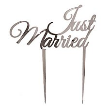 Just Married Cake Decoration