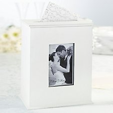 Wooden Photo Card Box