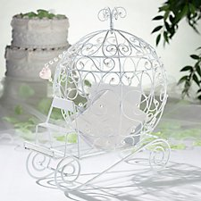 Fairytale Coach Wedding Post Box