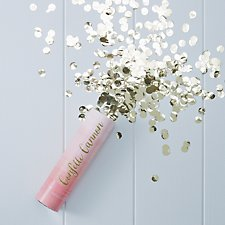 Pink Ombre Compressed Air Confetti
