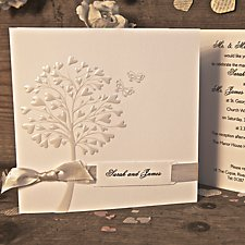 Pure Wedding Day Invitation