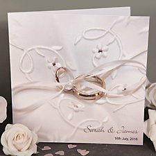 Wedding Rings Wedding Day Invitation