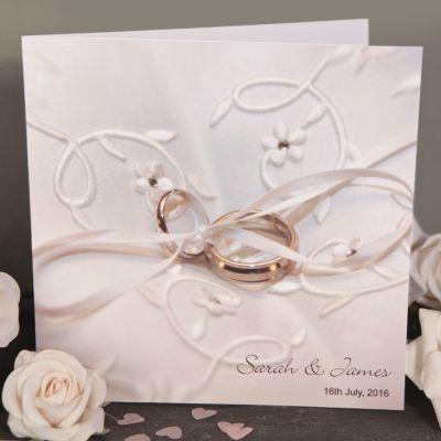 Wedding Rings Wedding Day Invitation