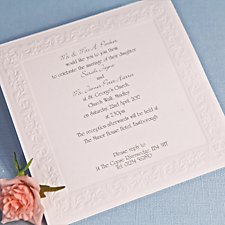 Romance Wedding Day Invitation