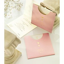 Pocket Wedding Invitations Fold Invites
