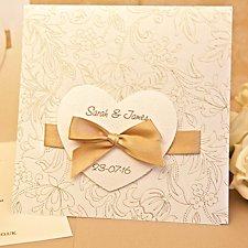 Sienna Wedding Day Invitaiton