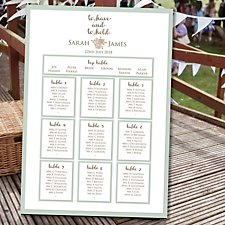 To Have and To Hold Table Plan