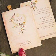 Timeless Wedding Day Invitation