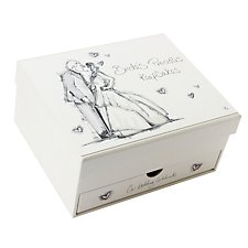 Tracey Russell Coffee & Cream Keepsake Box