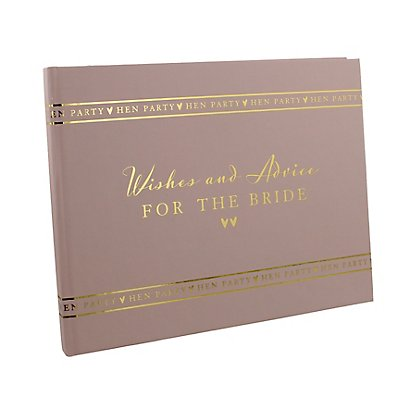 Amore Hen Party Wishes And Advice Book Wedding Accessories