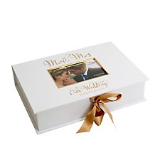 Always & Forever Gold Foil Keepsake Box