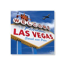 Welcome to Las Vegas Wedding Evening Invitation
