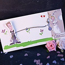 Ball and Chain Wedding Day Invitation