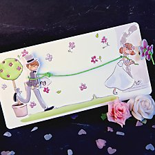 Be Mine Wedding Day Invitation
