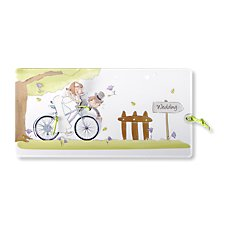 Bicycle Wedding Day Invitation