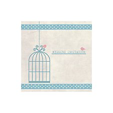 Birdcage Wedding Day Invitation