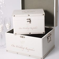 Wedding Keepsake Boxes Treasure Your Wedding Memories