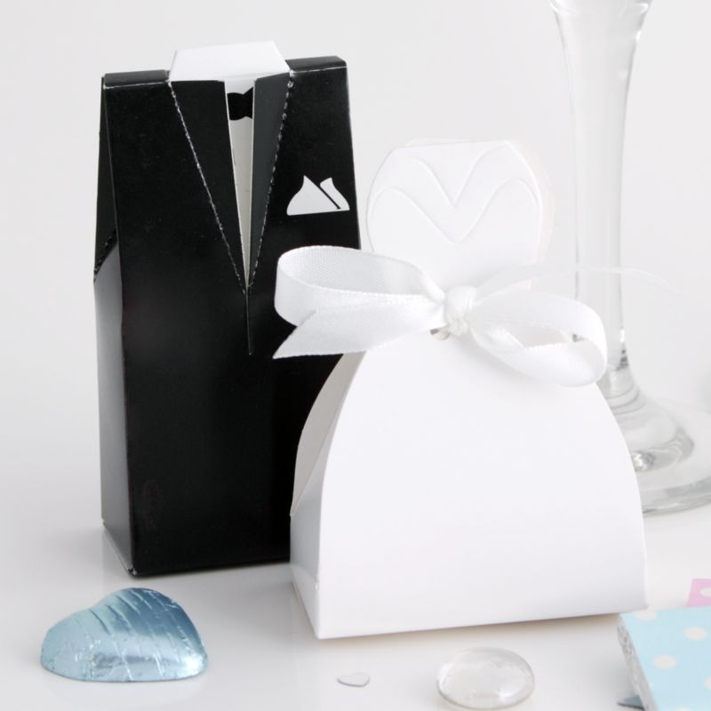 Wedding Dress Favour Boxes Wedding Accessories