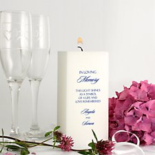152mm Personalised Candle