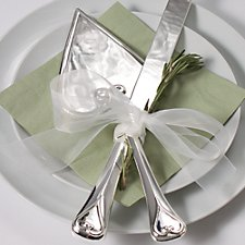 Heart Shaped Serving Set (Personalised)