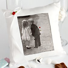 Young Love Ring Bearer Pillow