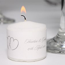 Linked Hearts Candle Favours (Pack 24)