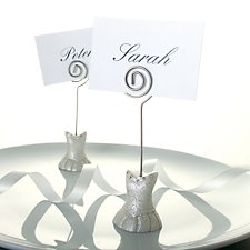 Bridal Dress Place Card Holders