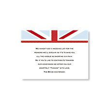 Cool Britannia Note Card