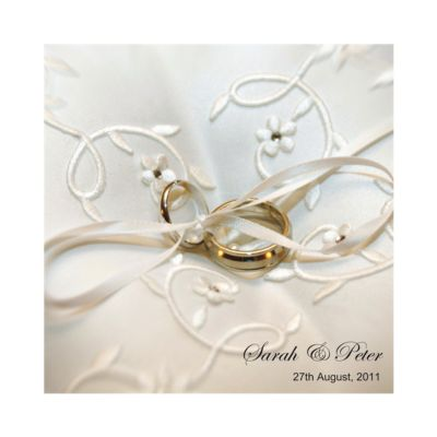 Wedding Rings Day Invitation Wedding Invitations