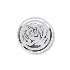 Round Rose Seals