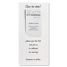 Ready or Knot Save the Date Magnet