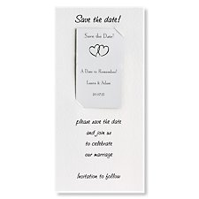 Custom Save the Date Card & Magnet - Portrait