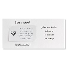 Custom Save the Date Card & Magnet - Landscape