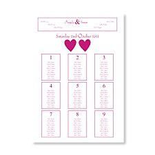 wedding table plans traditional alternative table plan ideas