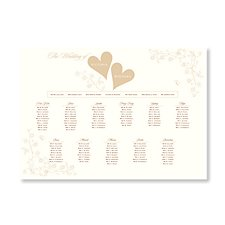 Love Is A2 Table Plan