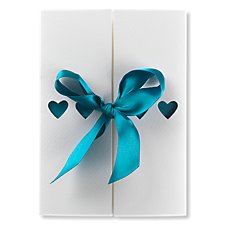 Ribbons Day Wedding Invitation