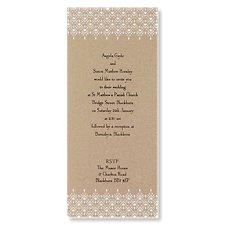 Fanciful Wedding Day Invitation